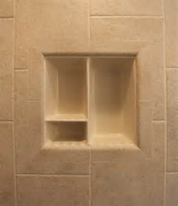 Bathroom Shower Shelves Recessed Bathroom Tile Niches Traditional Tub And Shower Parts Dc Metro By Bathroom Tile