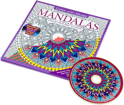 coloring book album songs mandalas coloring book with relaxation cd color