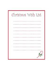 Christmas wish list template 8 free templates in pdf word excel