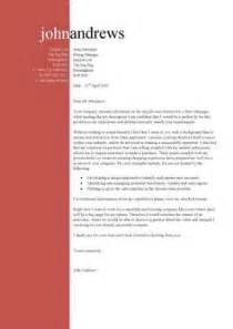 unique cover letter a cover letter sle with a flourish