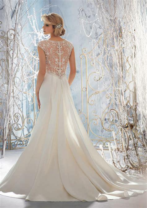 beaded gown wedding dress gorgeous beaded back wedding dresses sang maestro