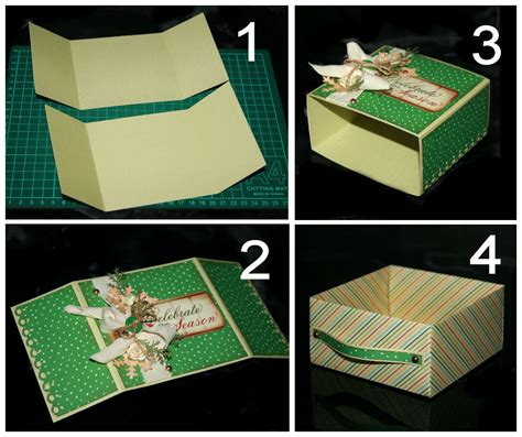 Diy Origami Box - how to diy origami paper gift box