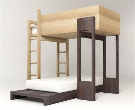 modern bunk beds kids bedroom furniture stylish space saving ideas and