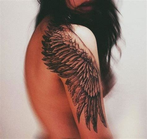 wing shoulder tattoo 75 awesome eagle shoulder tattoos