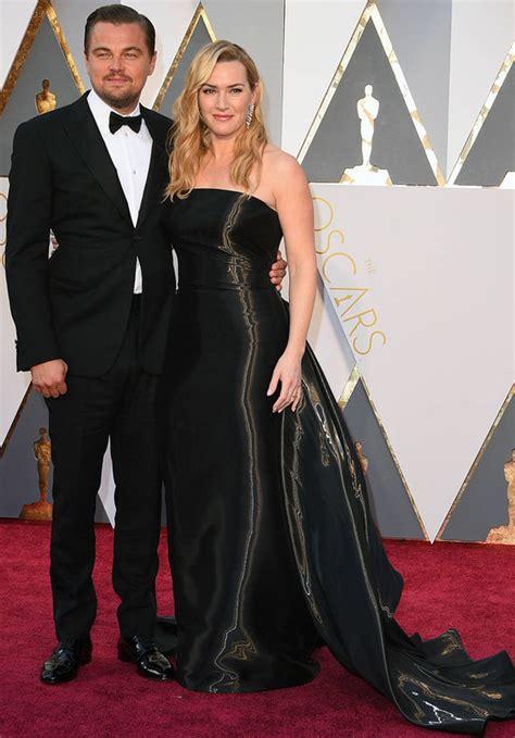 Oscars And Leo by Oscars 2016 Titanic Co Kate Winslet And Leonardo