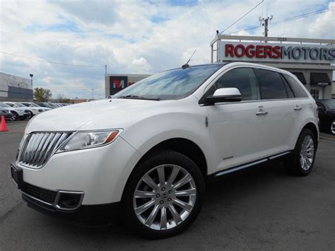 how make cars 2013 lincoln mkx navigation system 2013 lincoln mkx navi vista roof reverse cam white rogers motors wheels ca