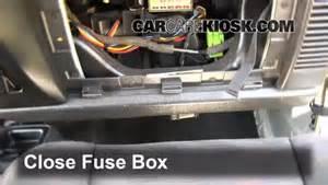 2007 Jeep Wrangler Fuse Box Location Interior Fuse Box Location 1997 2006 Jeep Wrangler 2004