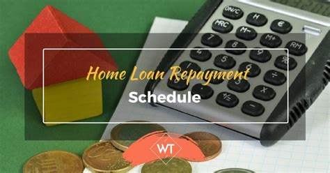 housing loan repayment schedule home loan repayment schedule