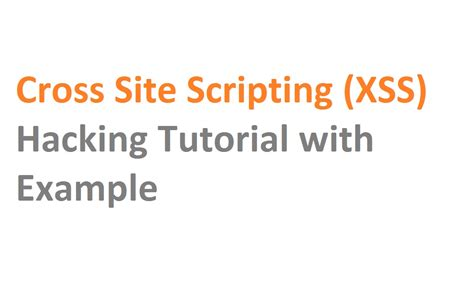 xss attack tutorial php cross site scripting tutorial with exle hacking in hindi
