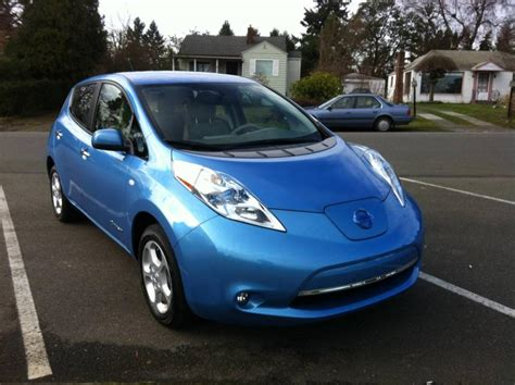 2012 nissan leaf 2012 nissan leaf information and photos zombiedrive