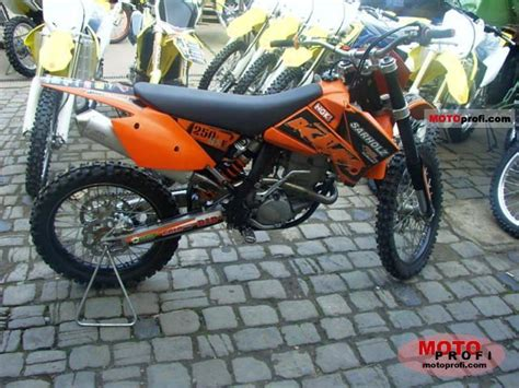 Ktm 250 Sx Horsepower Ktm 250 Sx F 2006 Specs And Photos