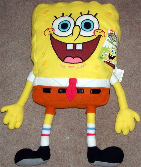 Spongebob Squarepants Pillow by 26 Inch Spongebob Squarepants Plush Cuddle Pillow