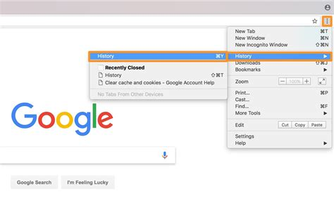 how to clear your web browsing cache