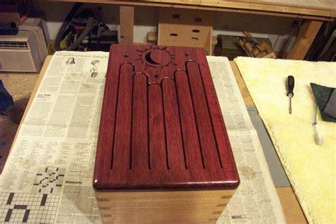tongue drum  bluerocco  lumberjockscom woodworking