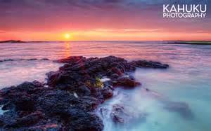 hawaii photographers ai opio fishtrap sunset hawaii landscape photography kahuku photography hawaii kona