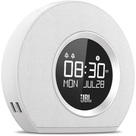 Jbl Horizon jbl horizon clock radio white jblhorizonwhtam b h photo