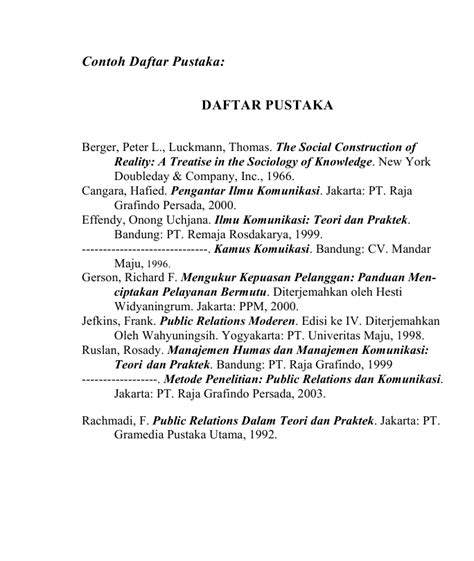 format daftar pustaka dari jurnal ilmiah spot of task bahasa indonesia tugas 6 daftar pustaka