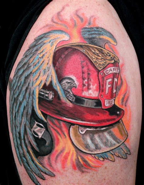 firefighter tattoo firefighter tattoos page 5