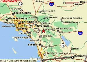 hemet area map information