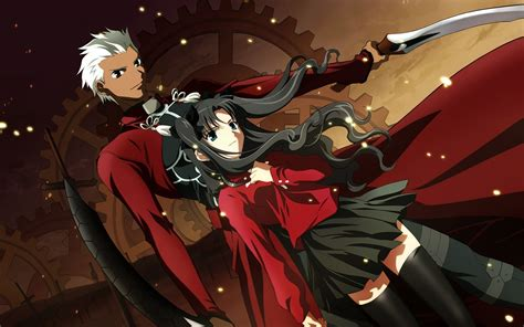 anime fate series fate stay night archer fate stay