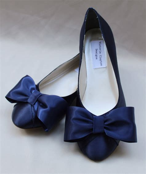 Wedding Shoes Size 11 Wide by Navy Wide Wedding Flat Size 11 Wide Sale Ready To Ship