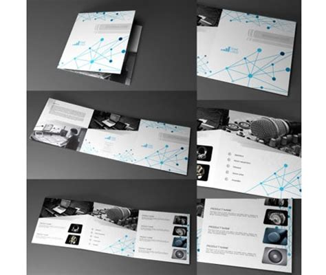 adobe indesign tri fold brochure template 6