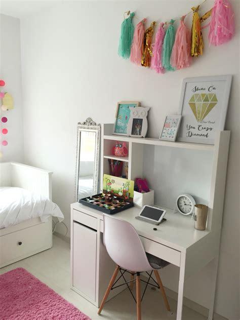 bedroom desk ikea ikea micke tassels scandinavian kids bedroom