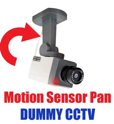 Dummy Surveillance Cctv With Motion Sensor Diskon motion sensor dummy cctv security with led ebay