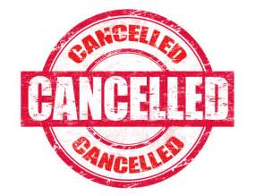 how to write a meeting cancellation letter