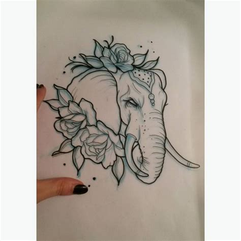 tattoo flash elephants 17 best ideas about neo traditional on pinterest neo