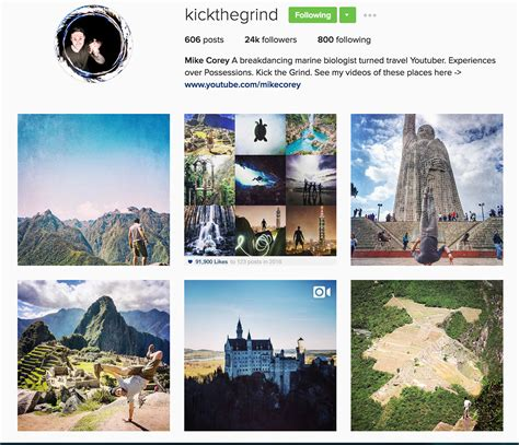 Bio For Instagram Travel | the top 25 travel instagram accounts to follow in 2017