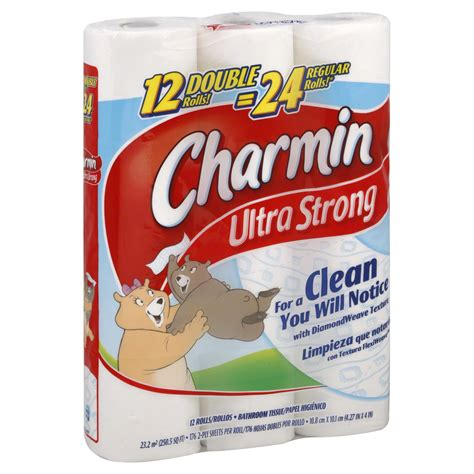 charmin bathroom charmin ultra strong bathroom tissue double rolls 2 ply