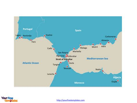 strait of gibraltar map gibraltar maps maps of gibraltar gibraltar gibraltar cruise port of call gibraltar tourist map