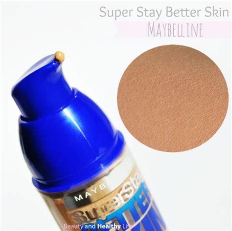better skin maybelline superstay better skin maybelline make up