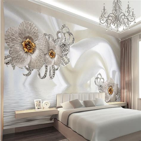aliexpress buy murals 3d wallpapers home decor photo