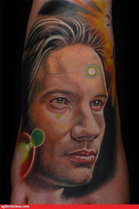 x files tattoo mulder the x files fan 32114103 fanpop