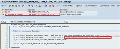 validation pattern code bopf code values check sap blogs