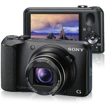 Kamera Sony Cybershot Dsc H90 sony cyber dsc h90 preta c 226 mara digital compacta