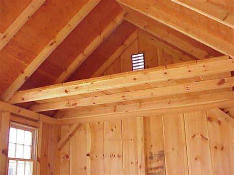 shed  loft plans loft  ft  building width