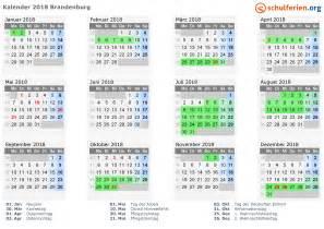 Kalender 2018 Ferien Und Feiertage Kalender 2018 Ferien Brandenburg Feiertage