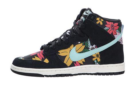 Nike Dunk High archive nike s dunk high print aloha sneakerhead 543242 009