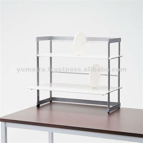 Desk Top Shelving by Japanese High Quality Office Interior Desktop Shelf
