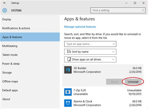 install windows 10 built in apps 2 ways to remove uninstall built in apps in windows 10