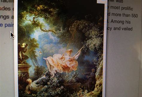 Fragonard The Swing 1766 by History 2 At Of Massachusetts Amherst