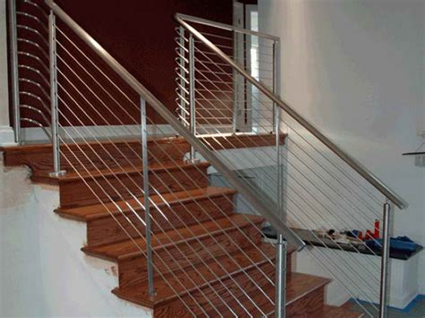 Stair Banister Kits by Metal And Wood Stair Railings Breeds Picture