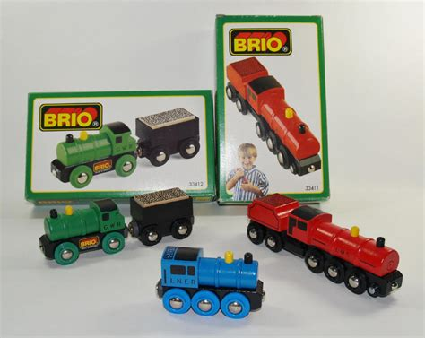 brio wooden train set brio