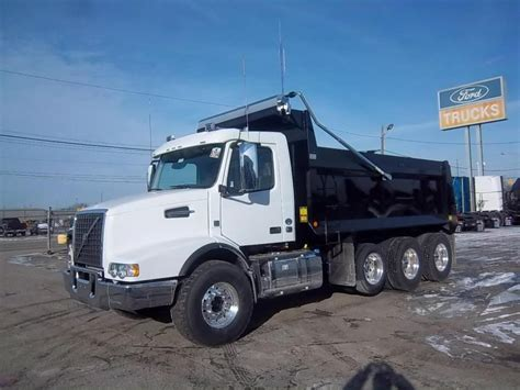 volvo truck 2017 2017 volvo vhd84b200 dump trucks for sale used trucks on