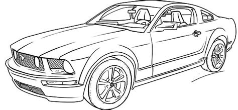 coloring pictures mustang cars top car coloring pages top car coloring pages