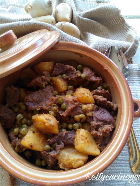 cucinare spezzatino con patate spezzatino con patate e piselli ketty cucino oggi