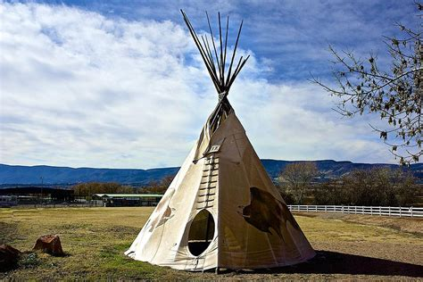 Online Home Plans by Tepee In The Desert Photograph By Barbara Zahno